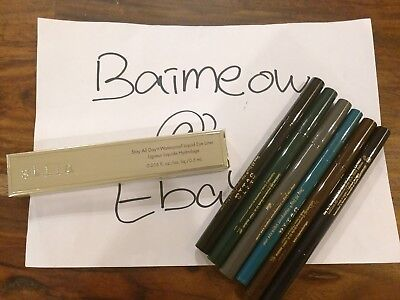 STILA Stay All Day Waterproof Liquid Eye Liner Full Size shades of your choice