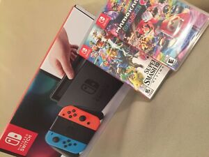 Nintendo Switch+2 brand new games *IN BOX BARELY USED*