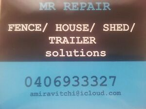 MR REPAIR property RESTORE REPAIR REPLACE REPAINT COMPLETE Taperoo Port Adelaide Area Preview