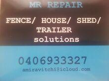 MR REPAIR property RESTORE REPAIR REPLACE REPAINT COMPLETE Taperoo Port Adelaide Area Preview
