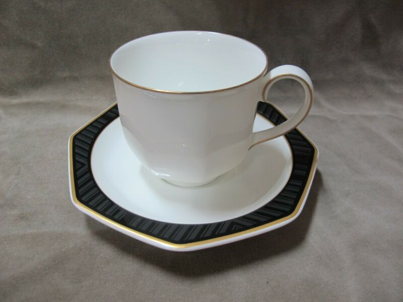 mehr da Untertasse Gedeck Villeroy /& Boch Heinrich Black Pearl Kaffeetasse