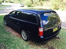 Holden Commodore VZ 2005 Wagon Auto Black Dural Hornsby Area Preview