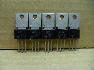 5 x TIC106M = S609 Thyristor 600v  4a high sensitive gate