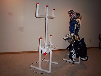 - SPORTS EQUIPMENT HOCKEY DRYING RACK TREE with FREE attachment