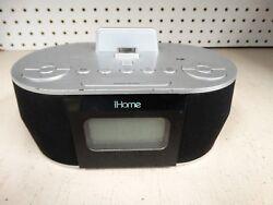 iHome iD38 Dual Charge, Dual Alarm FM Clock Radio for Apple 30 Pin - no adapter