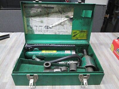 Greenlee 7646 Hydraulic Knockout Punch Set 767 Pump