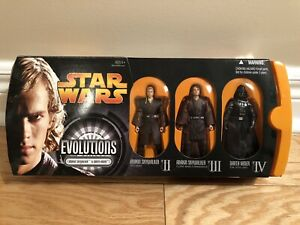 Star Wars Evolutions Anakin Skywalker to Darth Vader