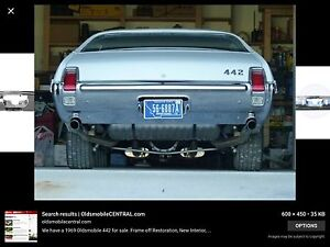Wanted 1969 Oldsmobile 442 rear bumper