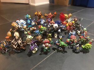 A whole bunch of skylanders