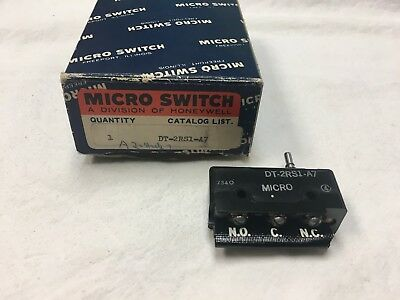 1 - Honeywell Micro Switch Dt-2rs1-a7 Limit Switch