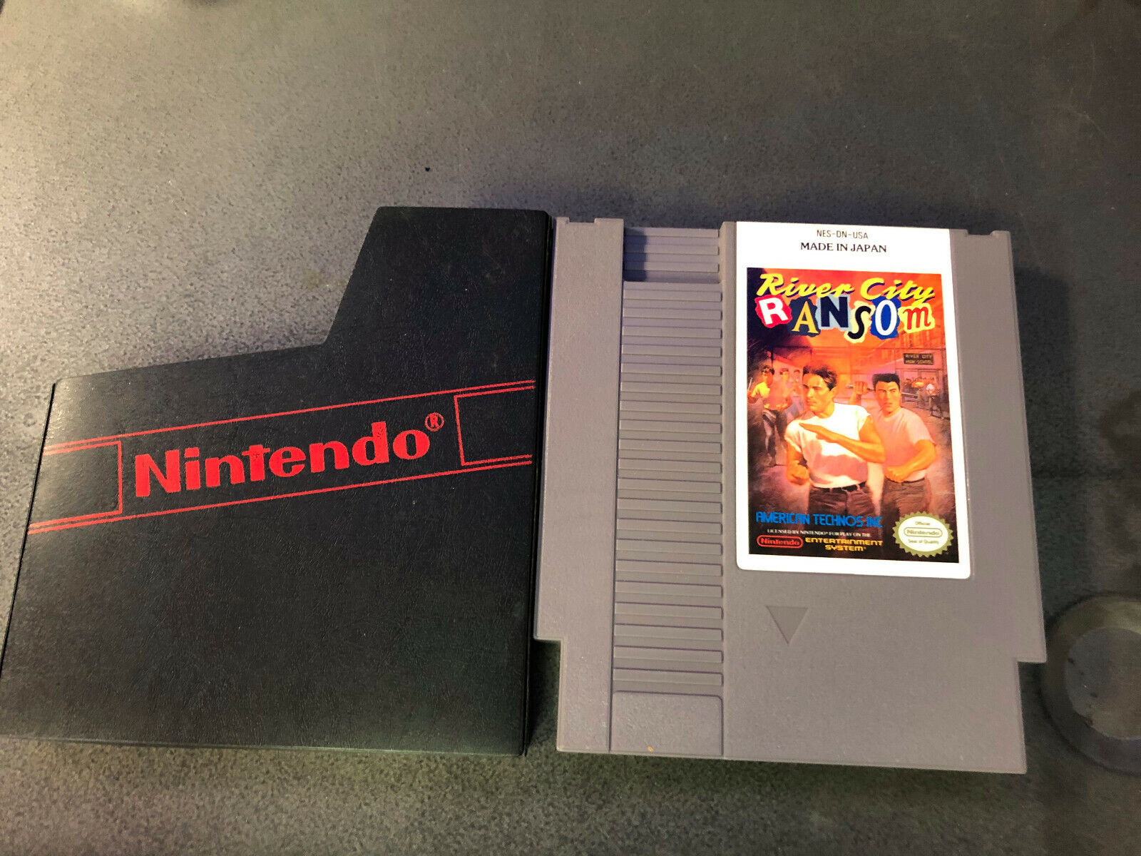 River City Ransom Nintendo Entertainment System NES 1989 Authentic RARE Tested - $46.00