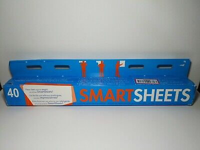 Smart Sheets Dry-erase Sheets - 23.5 X 31.5 White Film - Wall Mount 40 Roll