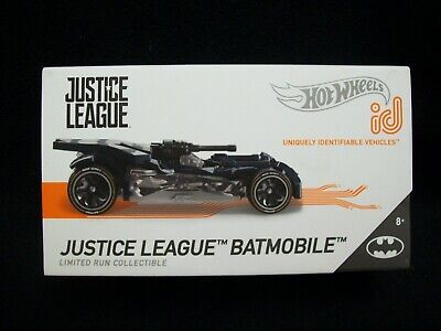 Hot Wheels ID Uniquely Identifiable Justice league Bat Mobile  Limited Edition.