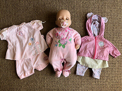 Zapf Creation Baby Annabell Interactive Doll With Accessories And Outfits