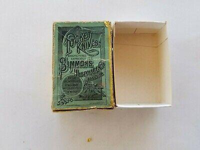 Vintage~ Antique~ Simmons Hardware Co.- Keen Kutter Knife Box ~1930s Era USA