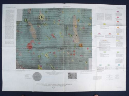 APOLLO 12 16 and 17 LANDING SITE GEOLOGIC MAPS Special! SAVE $30 ON ALL THREE!