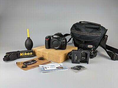 Nikon D60 DSLR Camera Body + Bag + Accessories!