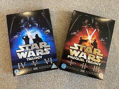 Star Wars Complete Saga Original And Prequel Trilogy