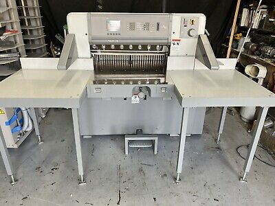Polar Model 78 Ed 30.7 Programmable Paper Cutter With Air Table Challenge
