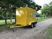 Robertsons Fabrications Enclosed Service Tool Builders Trailer Maryborough Fraser Coast Preview