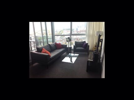 Fully furnished queen room in docklands apartment Melbourne CBD Melbourne City Preview