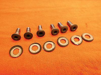 Honda CBR 1000 F SC21 Schrauben der Bremsscheibe vorne / hinten screws brakedisc