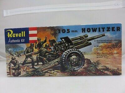 Revell 105MM HOWITZER 1/40 Scale Plastic Model Kit H-539:79 UNBUILT 2006 Reissue