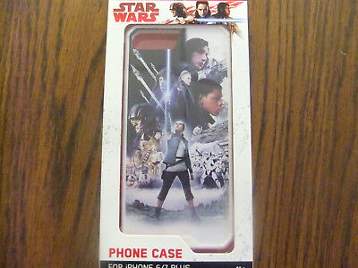 Star Wars Phone Case for iPhone 6/7 Plus -  Force Awakens - New In Package