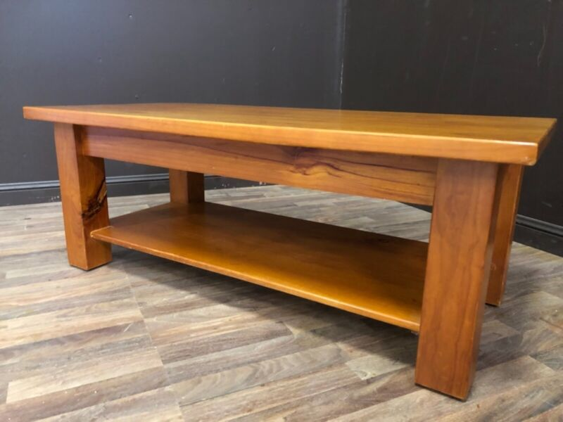 Solid Wooden Coffee Table Sydney Delivery Available