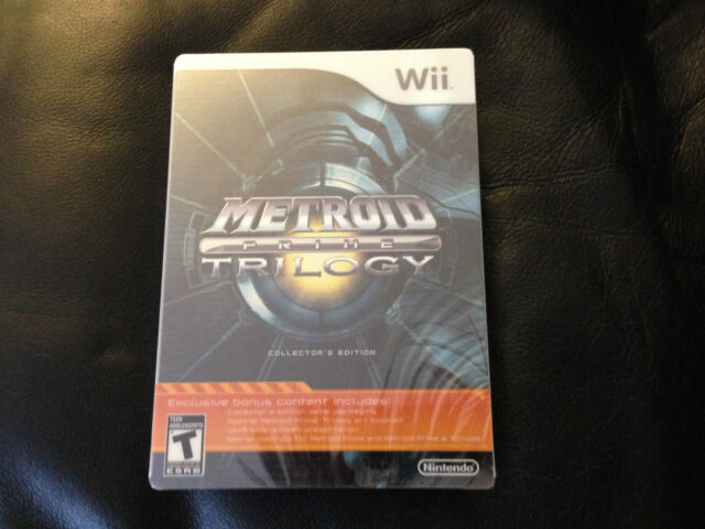 Metroid Prime Trilogy: Collector's Edition  (Wii, 2009) FACTORY SEALED NEW