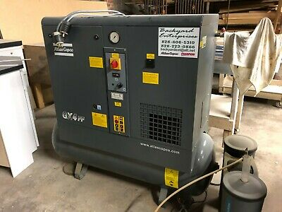 Gx4ff Atlas Copco 5 Hp Single Phase Rotary Screw Air Compressor