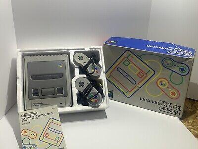 Super Famicom Console System (Tested SHVC-001) Nintendo Vintage 1990