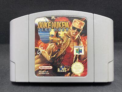 N64 Nintendo 64 Game - Duke Nukem: Zero Hour - PAL