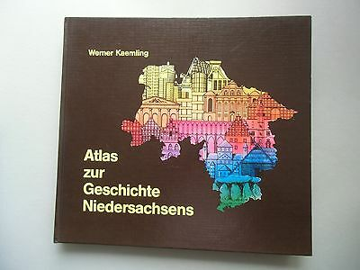 Atlas zur Geschichte Niedersachsens 1. Auflage 1987