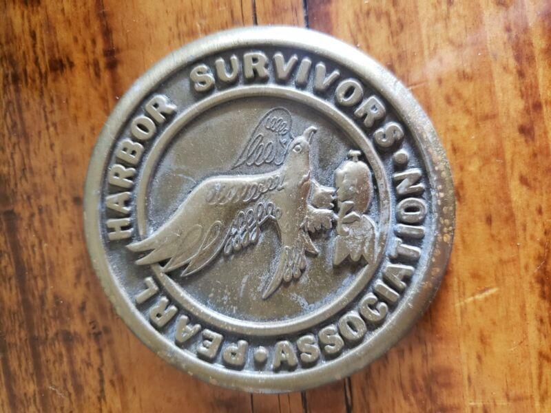 Pearl Harbor Survivor Medallion