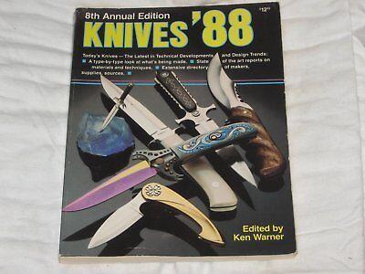 KNIVES '88, KEN WARNER, GUN DIGEST BOOKS,  Your Best Offer?  RANDALL