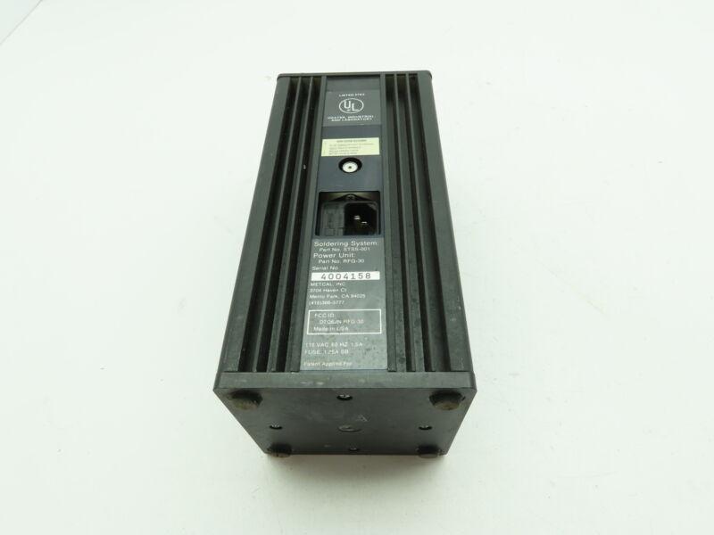 Metcal RFG-30 Soldering Rework Station Power Supply 115V STSS-001