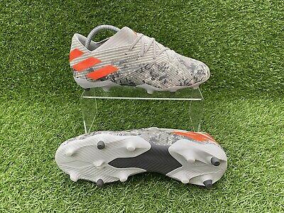 Adidas Nemeziz 19.1 / 19.2 Gunmetal Football Boots [2019 New] FG UK Size 8.5