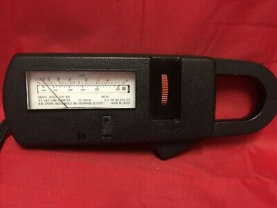 Sperry Snap 8 Spr-300 Clamp Ac Volt-ohm-ammeter Made In Japan