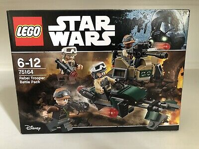 LEGO STAR WARS 75164 REBEL TROOPER BATTLE PACK 2017 RETIRED NEW & SEALED