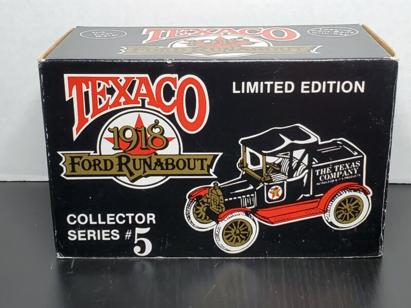 ERTL Texaco 1918 Ford Runabout Collector Series #5 Die Cast 1988
