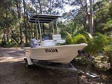 Triumph 2008 model 170 centre console 16 ft 10 fishing boat Noosaville Noosa Area Preview