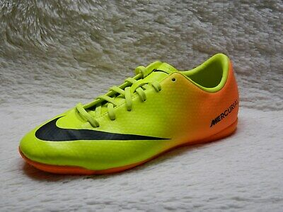 57f39ed4a2653 Nike Mercurial Victory IV Indoor Soccer Cleats Youth Size 3.5Y Yellow FREE  S&H