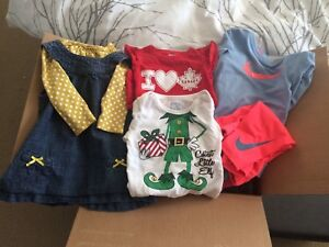 Girls 6-12 and 9 month clothing EUC