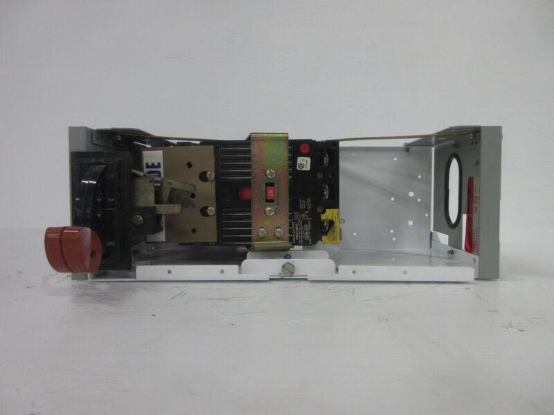 """General Electric GE 8000 15 Amp Breaker Type 6"""" MCC Feeder Bucket 15A No Door"""