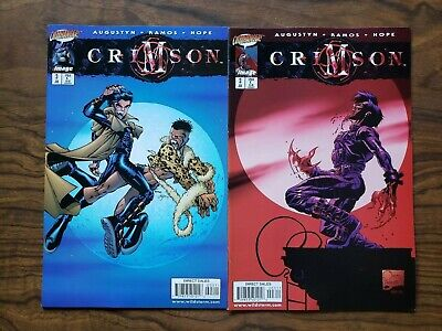 Crimson #3 Humberto Ramos Regular Joe Quesada Variant Covers