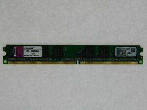 1GB Kingston KTH-XW4300/1G DDR2 667mhz made for HP XW4300