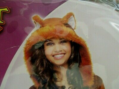 Girl Fox Costume (Sweet Fox Costume Halloween Girls X-Large Hat With Attached Ears & Boot)