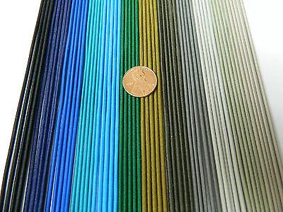 2 mm. ELASTIC CORD BLACK 200 YARDS