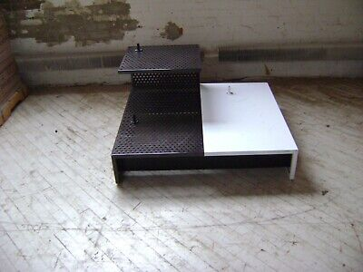 RETAIL STORE RISER BLACK WHITE MANNEQUIN STAGING AREA PLATFORM